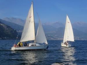 Noleggio barche a vela sul Lago di Como