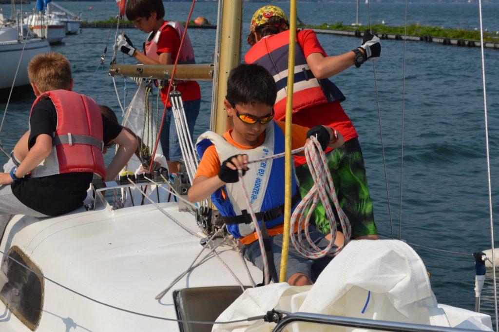 Corsi di vela per ragazzi